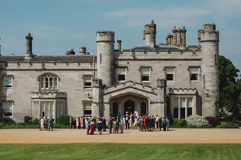 wedding venue scotland dundas castle