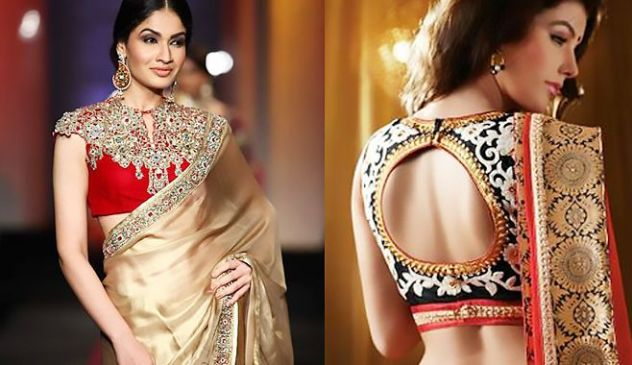 reuse your wedding lehenga: with saree
