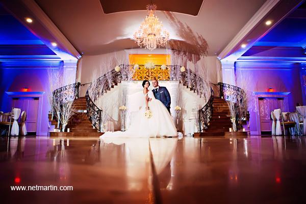 Anna Amp Emilios Modern Glam Wedding At Aria In Prospect CT