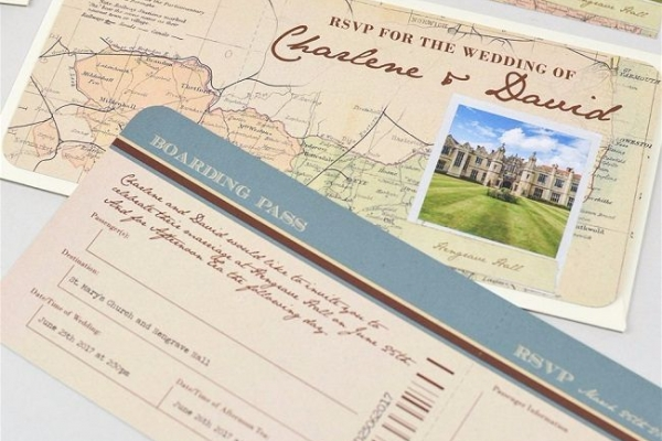 Wedding Abroad Invitations Practical Information Advice