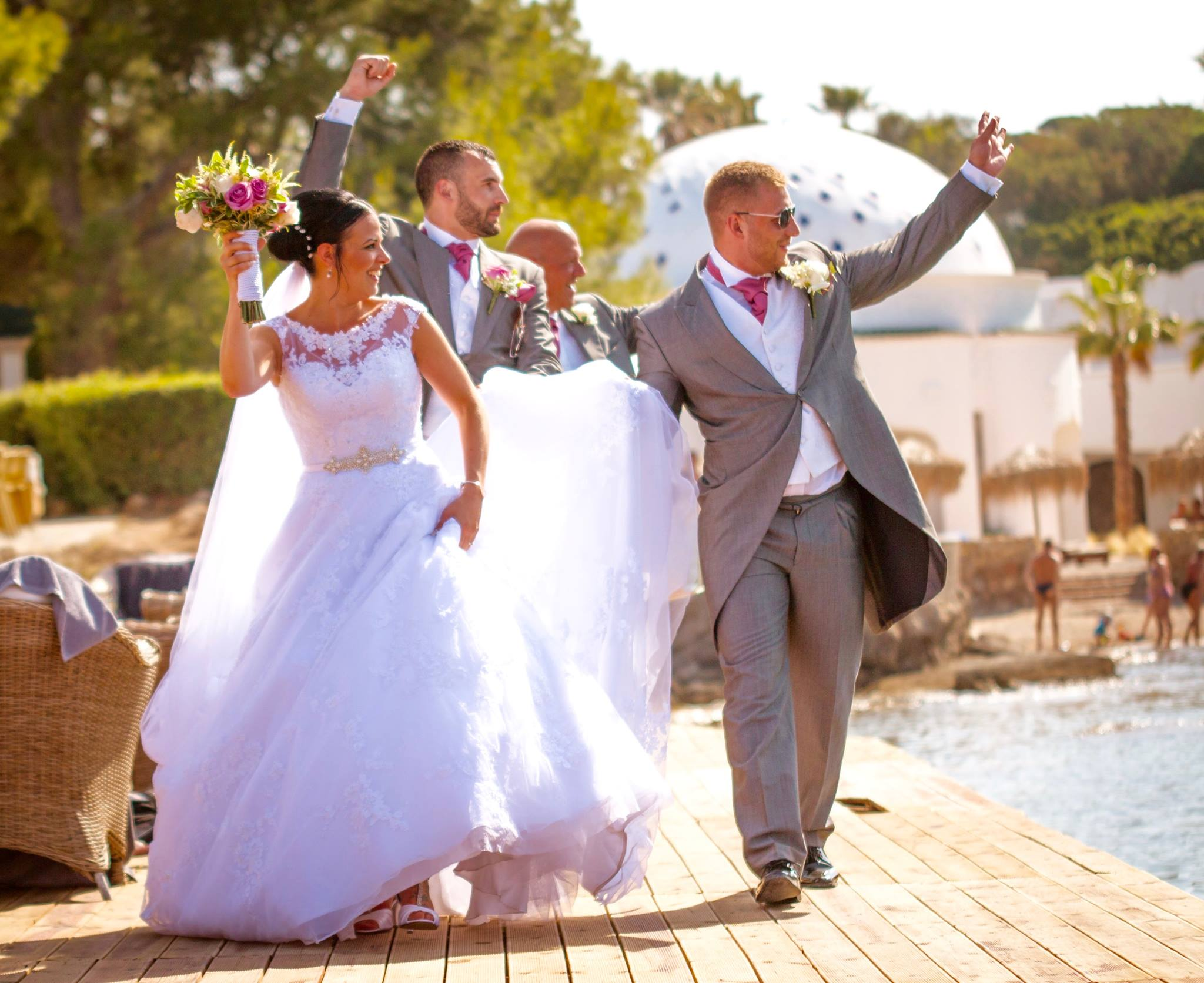 wedding at Kallithea Spa