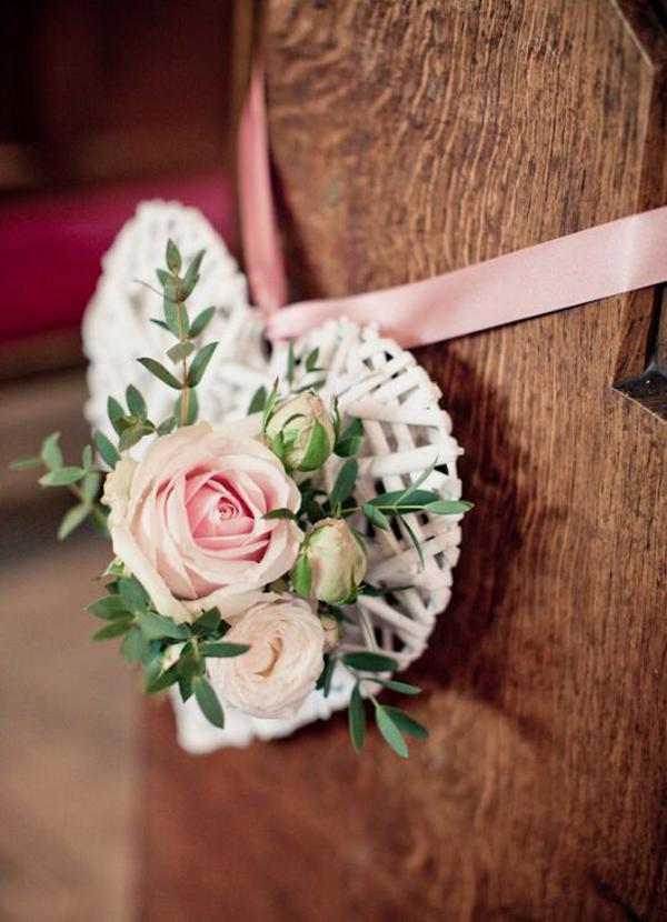 Wedding Decor 20 Of The Prettiest Pew Ends Weddingsonline