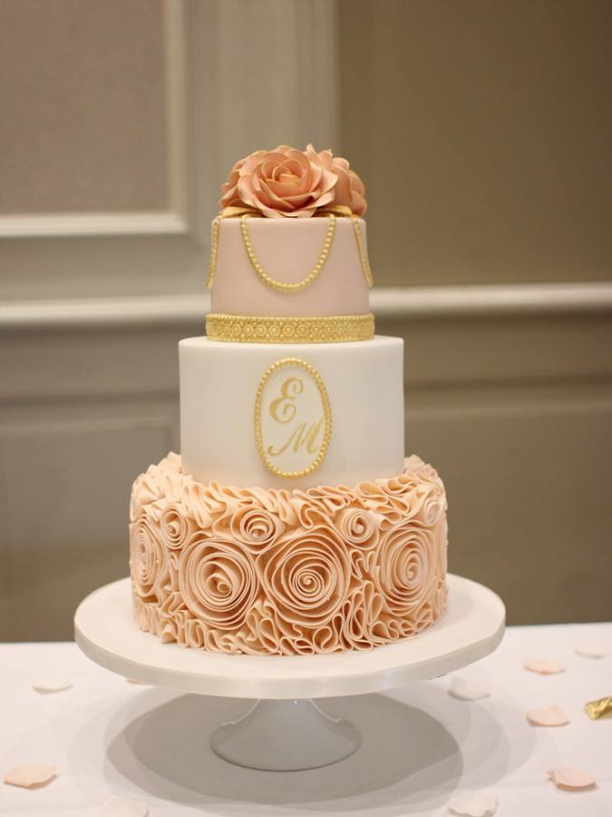 32 Incredible Wedding Cakes from Irish Cake Makers   weddingsonline Wedding Cake by French Wedding Cakes  Kildare