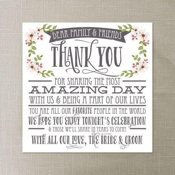 11 Wedding Thank You Card Ideas You Ll Want To Steal Weddingsonline