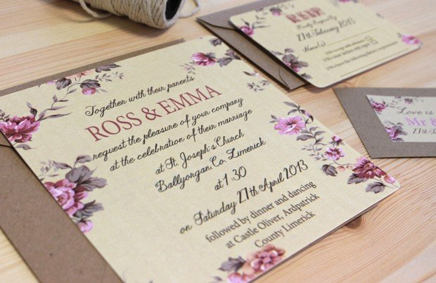 Wedding Attire Invite