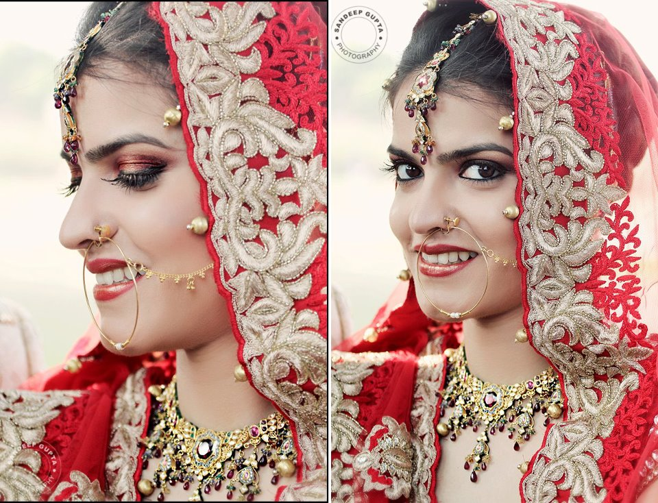 The Indian Bridal Eye Makeup Indias Wedding Blog Exploring