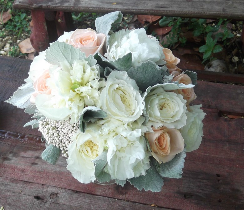soft pastel bridal wedding bouquet