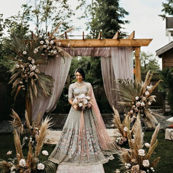 "Bridal looks from 2020 Intimate Weddings that made us go ""Wow""!"