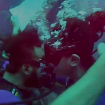 Immersed in romance, this underwater wedding proposal at Atlantis The Palm in Dubai was breathtaking!