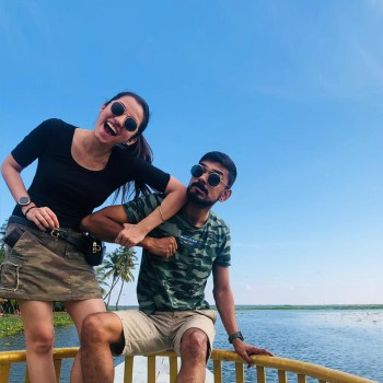From savoring traditional South Indian cuisine to cruising on the serene backwaters, this couple's holiday in Kerala was an unforgettable experience!