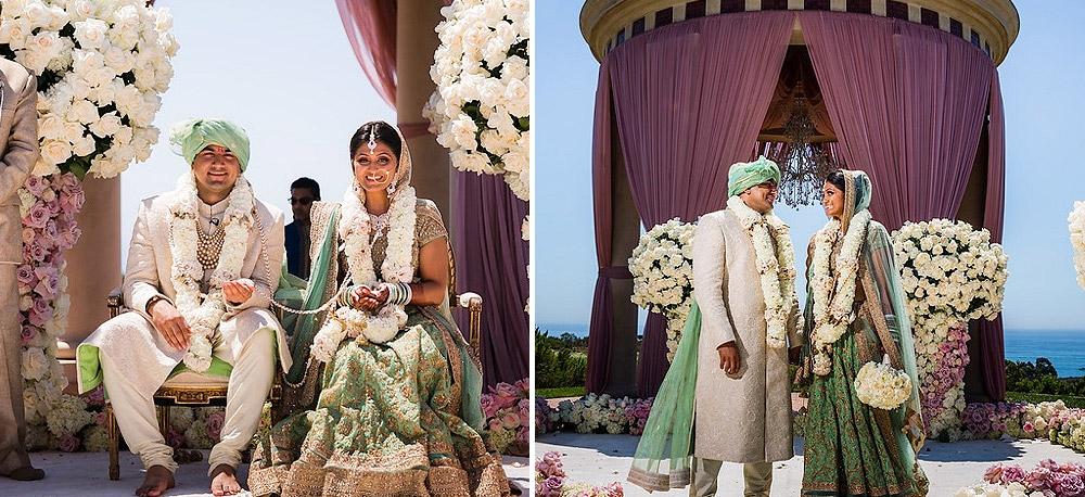 Green Bridal Lehengas