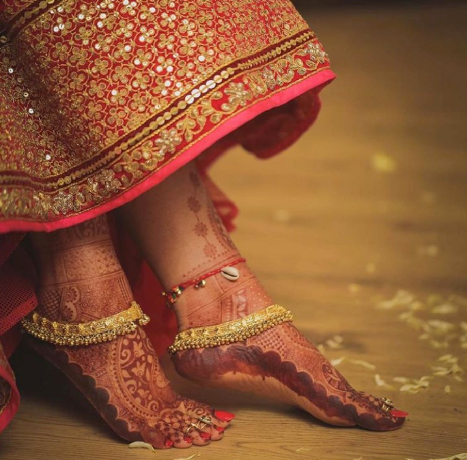 11 Pretty and Trendy Payal Designs For All Brides-To-Be