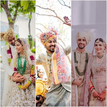 25 real grooms who nailed their look with a safa!