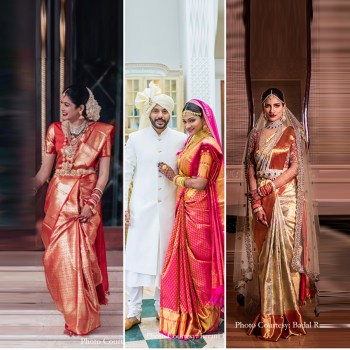 10 Celeb Brides who rocked kanjeevaram silk sarees