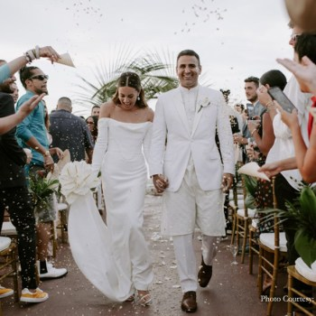 Lauren Lavinger and David Laven's Multicultural Tropical Wedding On The Exotic Island of Jamaica