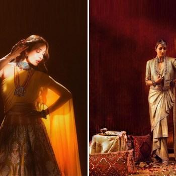 Malaika Arora delivers two outstanding looks in Tarun Tahiliani ensembles