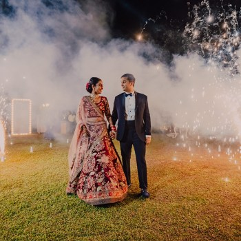 Meghna and Sanjay, Anantara Kalutara Resort, Sri Lanka