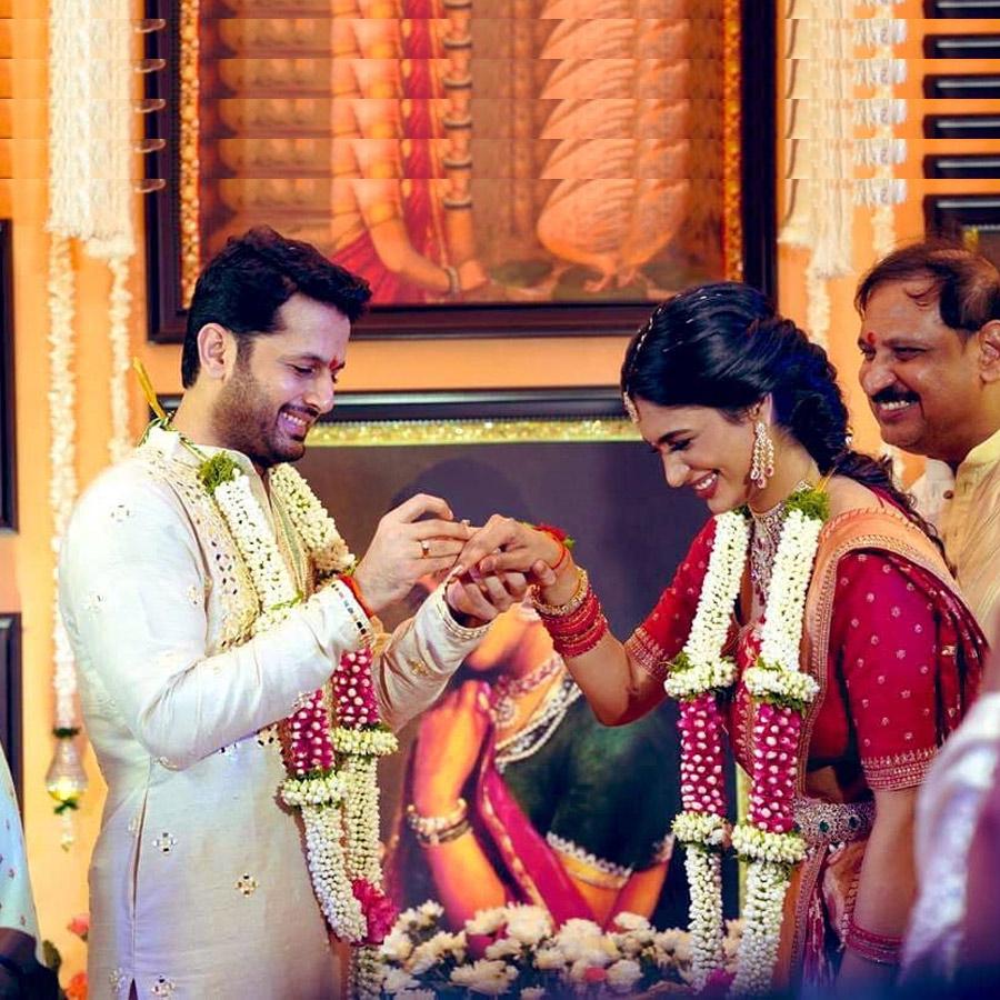 Nithiin Reddy And Shalini Kandukuri