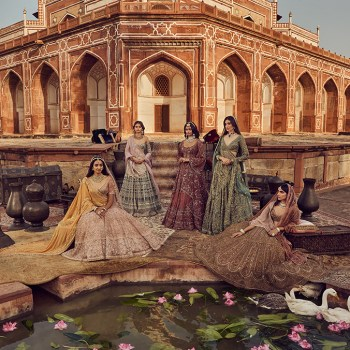 Soak up the rich Mughal decadence of Payal Keyal's latest collection for your big day