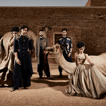 """Shantanu and Nikhil's latest ceremonial collection """"OASIS"""" spells glamour with an edge"""