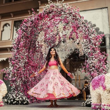 Short Lehenga Designs for the Quirky Bride