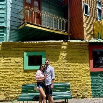 Vidhi and Yashen, South America