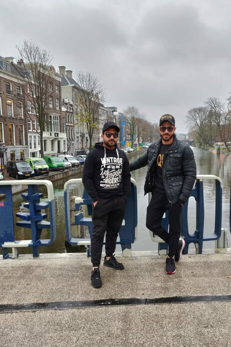 Suhail's Bachelor Holiday in the Netherlands