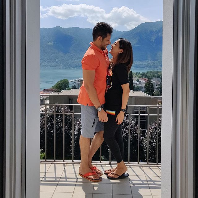 Neeti Mohan and Nihaar Pandya, Switzerland