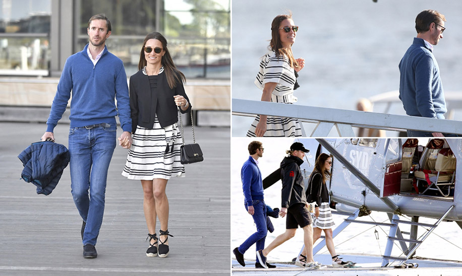 Pippa Middleton and James Mathews