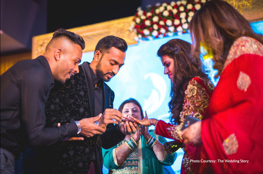 Krunal Pandya and Pankhuri Sharma, Mumbai