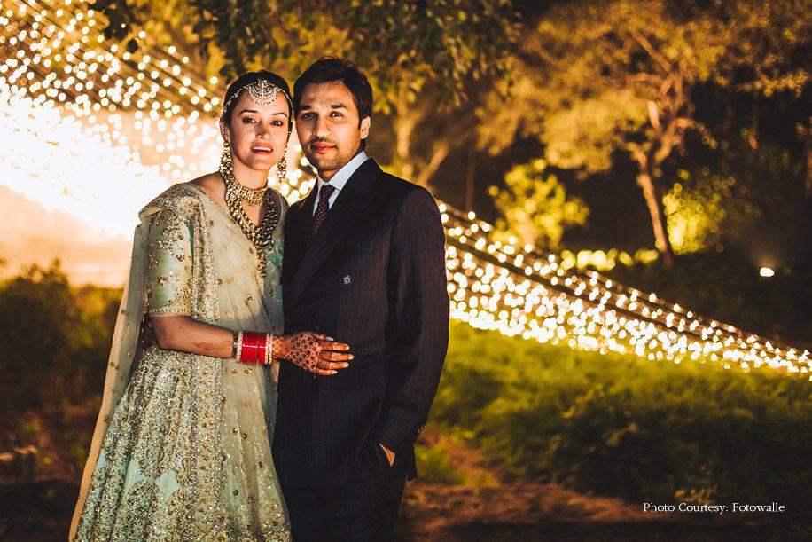 Pia Sodhi and Kshitij Khemka, Delhi