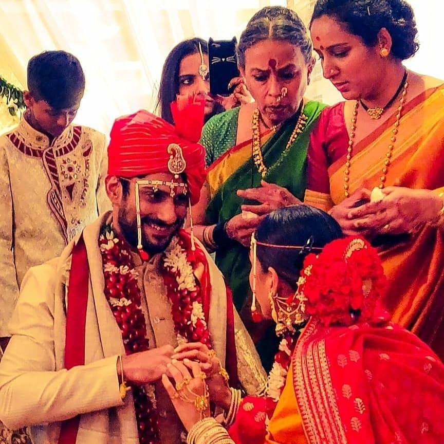 Prateik Babbar and Sanya Sagar, Lucknow