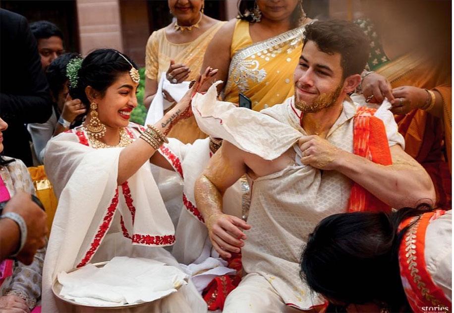 Priyanka Chopra's Mehndi Celebration in Jodhpur