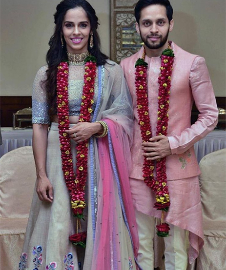Saina Nehwal and Parupalli Kashyap