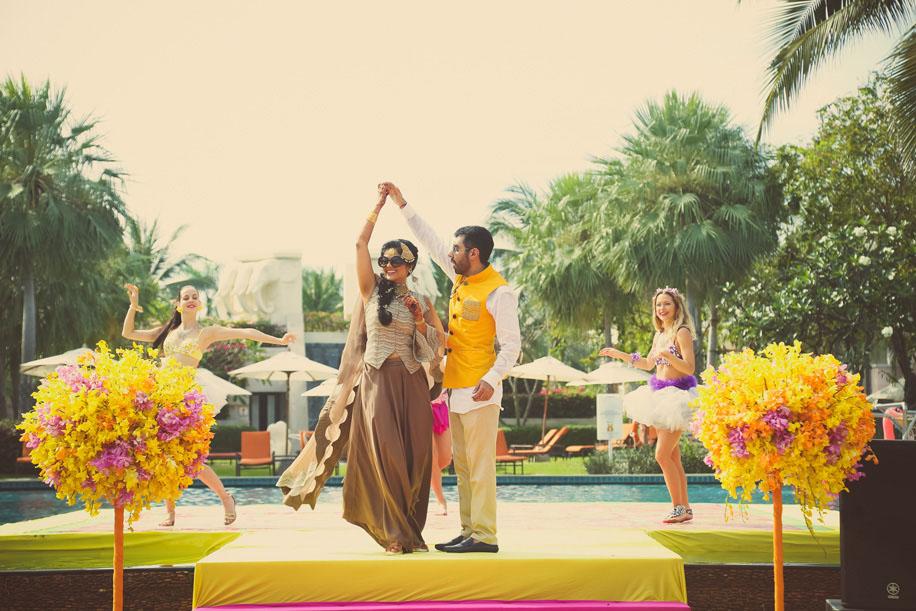 Sajinee and Raman, Sheraton Hua Hin Resort & Spa, Thailand