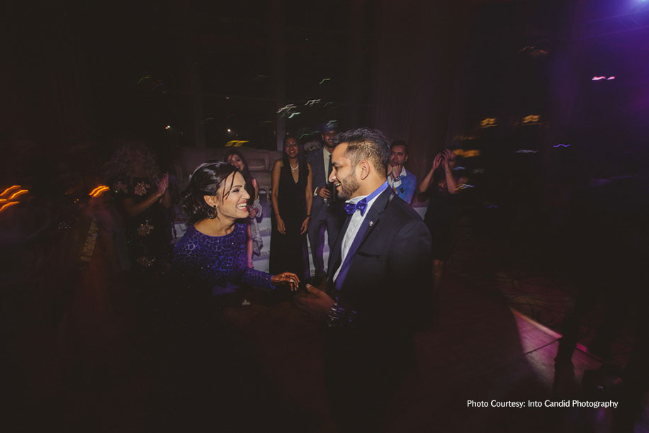 Tanvi and Satish, Jumeirah Creekside Hotel, Dubai
