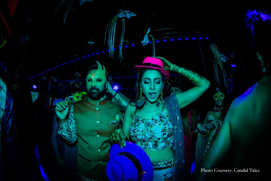 Devika and Akshat, Genting Dream Cruise, Singapore