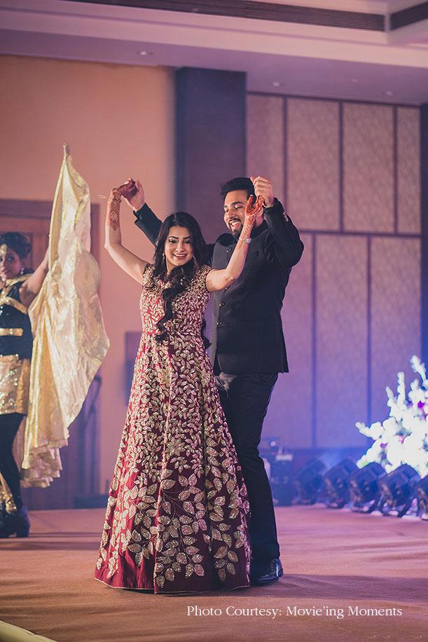 Eshita and Vaibhav, Radisson Blu