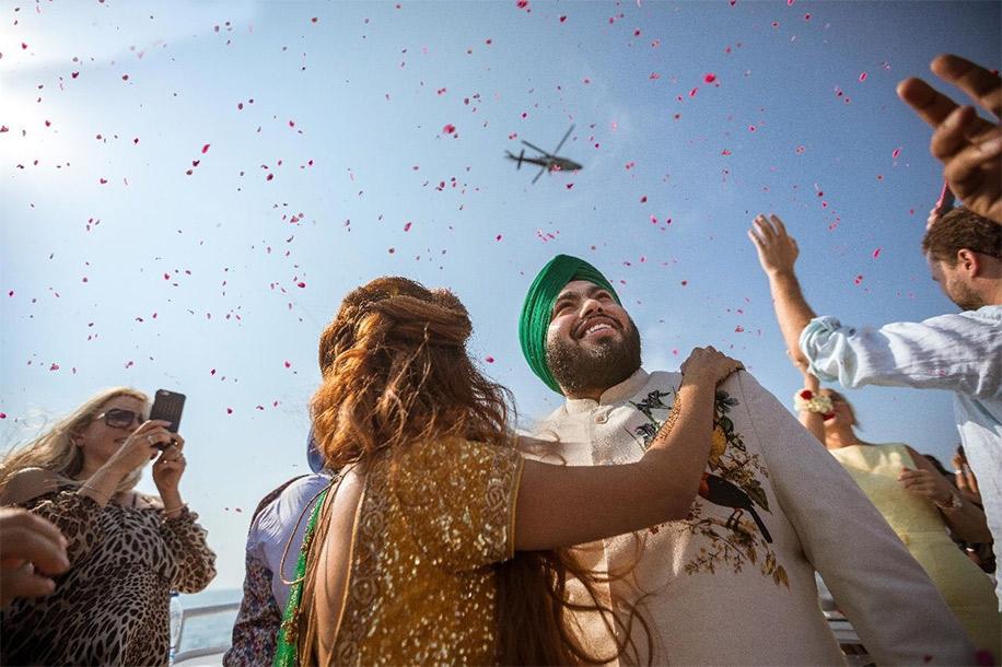 Japinder Kaur and Harpreet Singh Chadha, Dubai