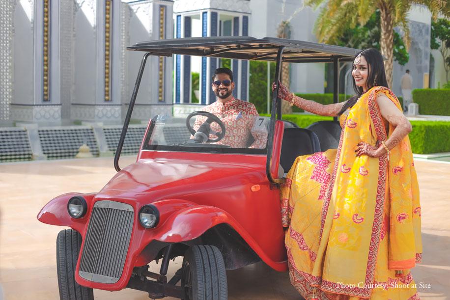 Khushboo and Salman, JW Marriott Jaipur Resort & Spa