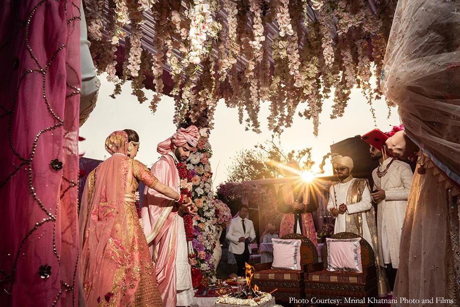Kompal and Rishabh, ITC Mughal Agra
