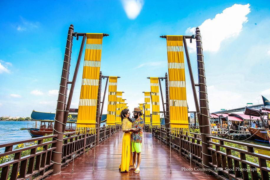 Mansi and Gobind, Bangkok