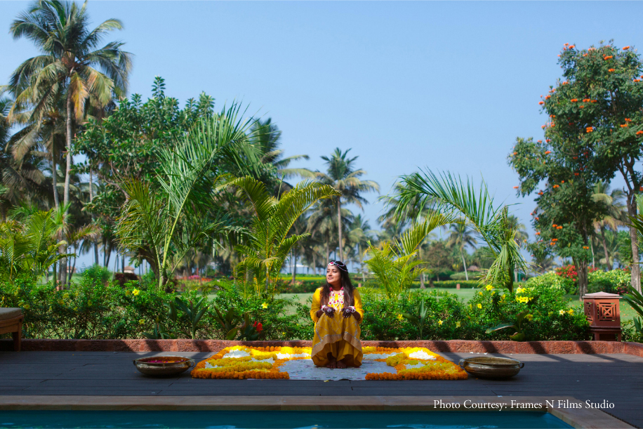 Payal and Siddharth, ITC Grand Goa Resort and Spa