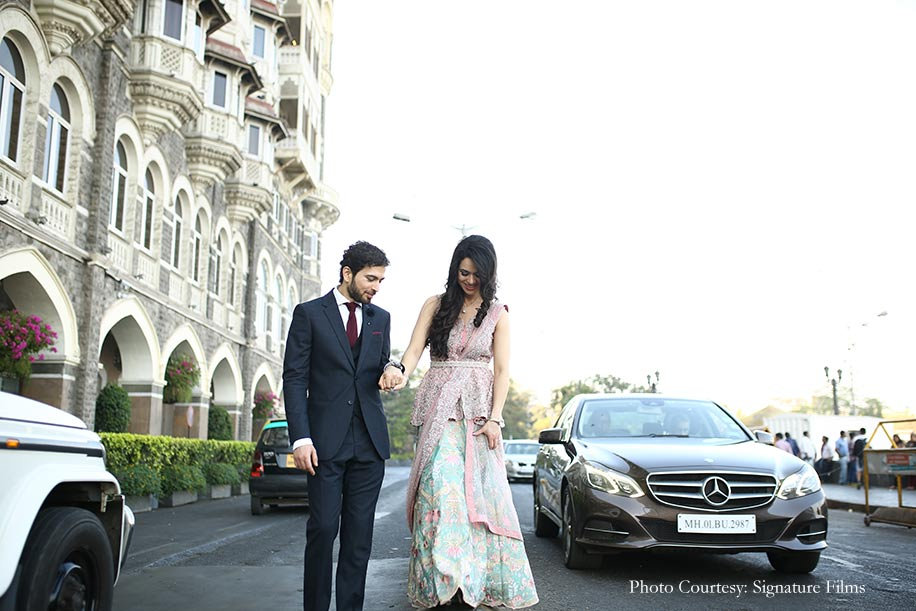 Rupi and Abbas, St. Regis, Mumbai