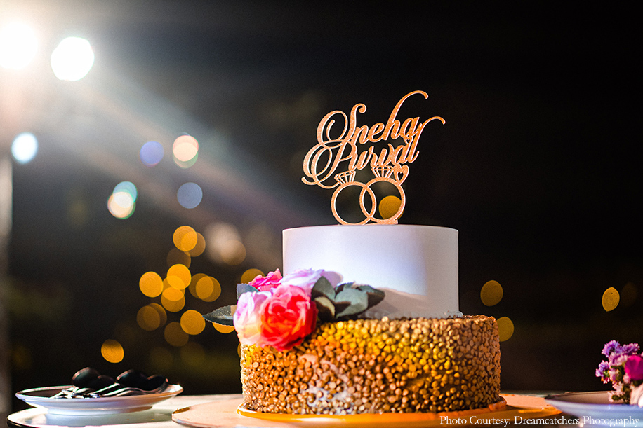 Wedding Cake  - Snehal and Purval, The St. Regis, Mumbai