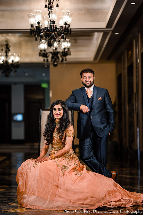 Reception Gown - Snehal and Purval, The St. Regis, Mumbai