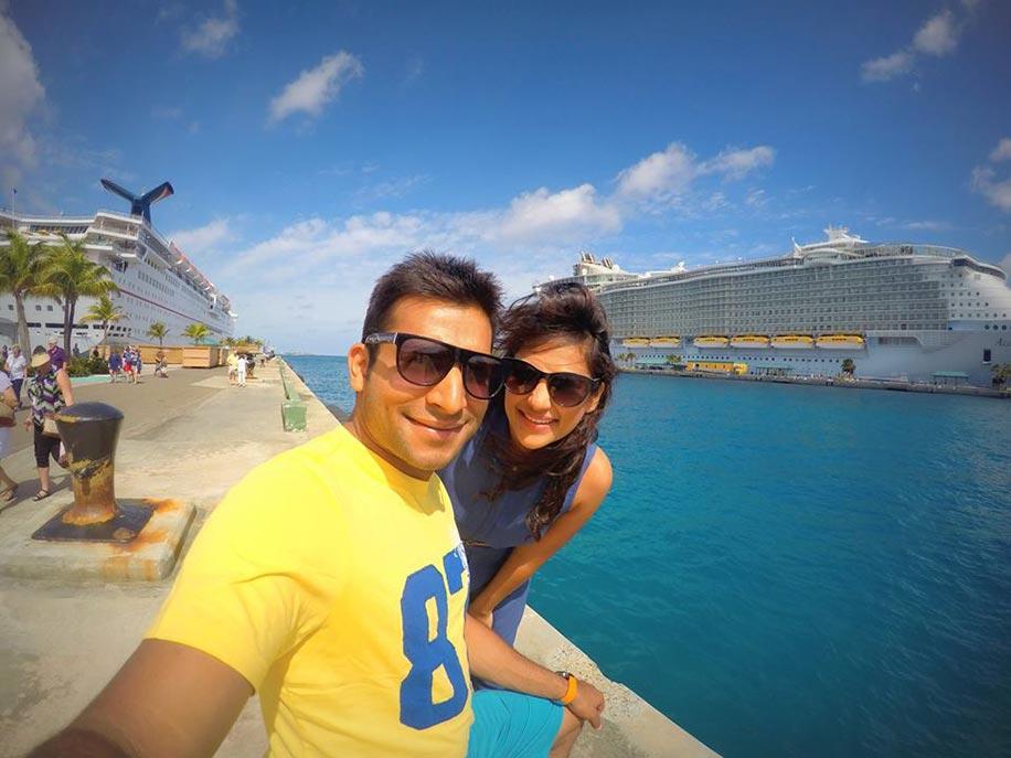 Chandni and Akshay