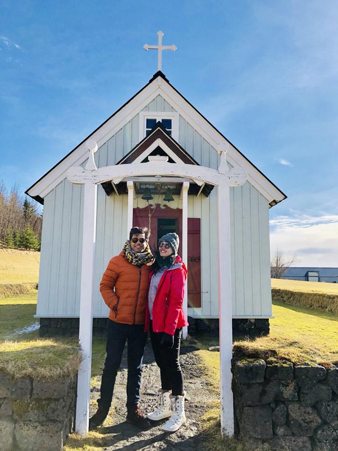 Shivi and Saransh, Iceland