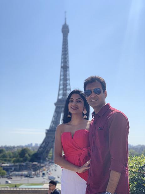 Siddhi and Karan, Maldives and Europe
