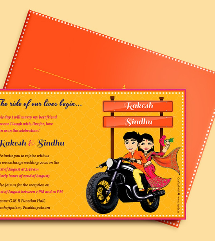 Create Your Own Wedding Invitation E Cards From Kards Weddingsutra Blog